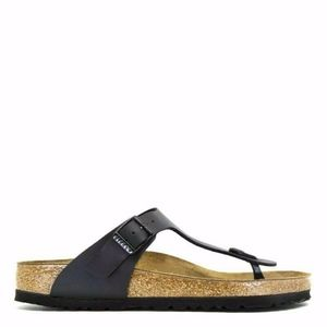 Birkenstock Gizeh BS BLACK Buckle Thong Sandals